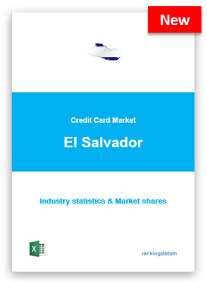 CREDIT CARD MARKET IN EL SALVADOR. INDUSTRY STATISTICS AND ISSUERS RANKING.