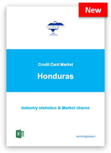 CREDIT CARD MARKET IN HONDURAS. INDUSTRY STATISTICS AND ISSUERS RANKING.
