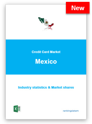 CREDIT CARD MARKET IN MEXICO. INDUSTRY STATISTICS AND ISSUERS RANKING.