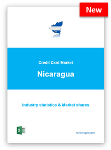 CREDIT CARD MARKET IN NICARAGUA. INDUSTRY STATISTICS AND ISSUERS RANKING.