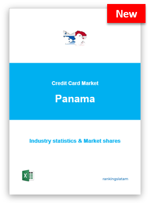 CREDIT CARD MARKET IN PANAMA. INDUSTRY STATISTICS AND ISSUERS RANKING.