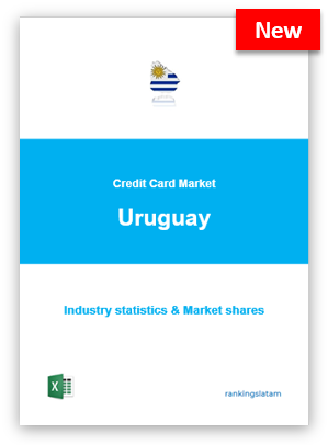 CREDIT CARD MARKET IN URUGUAY. INDUSTRY STATISTICS AND ISSUERS RANKING.