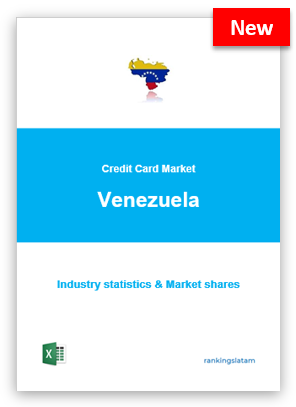 CREDIT CARD MARKET IN VENEZUELA. INDUSTRY STATISTICS AND ISSUERS RANKING.