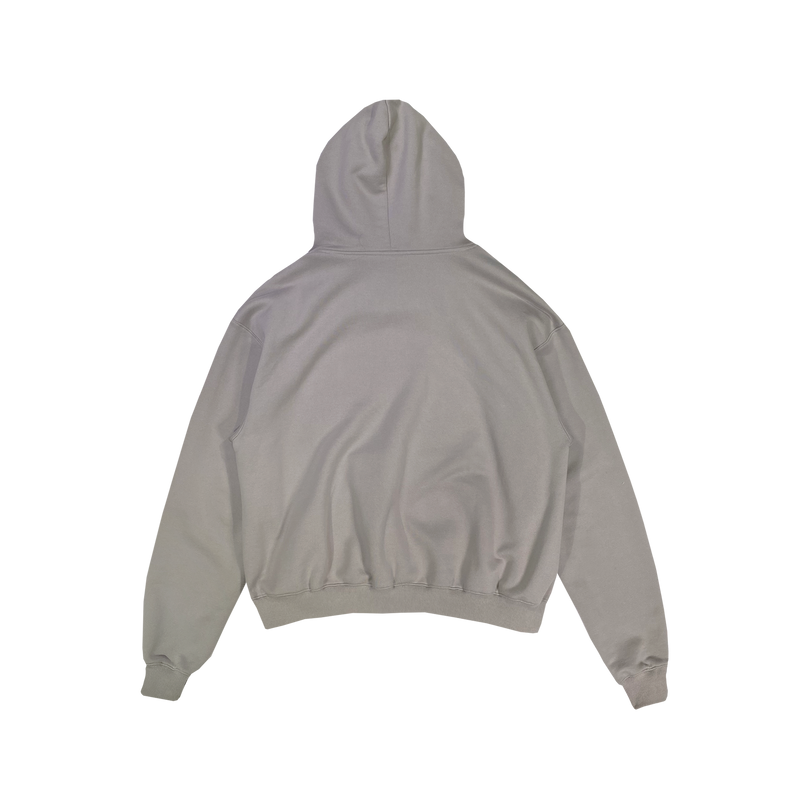 (FINAL SALE - US ONLY) ULTRA-HEAVYWEIGHT HOODIE - STONE GRAY
