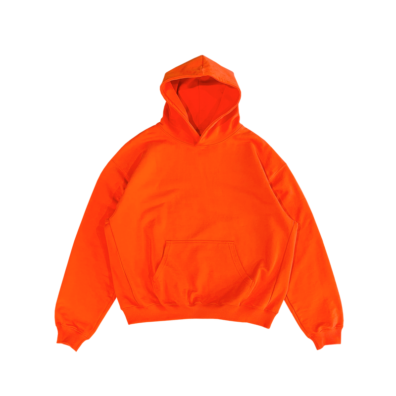 ULTRA-HEAVYWEIGHT HOODIE - ORANGE