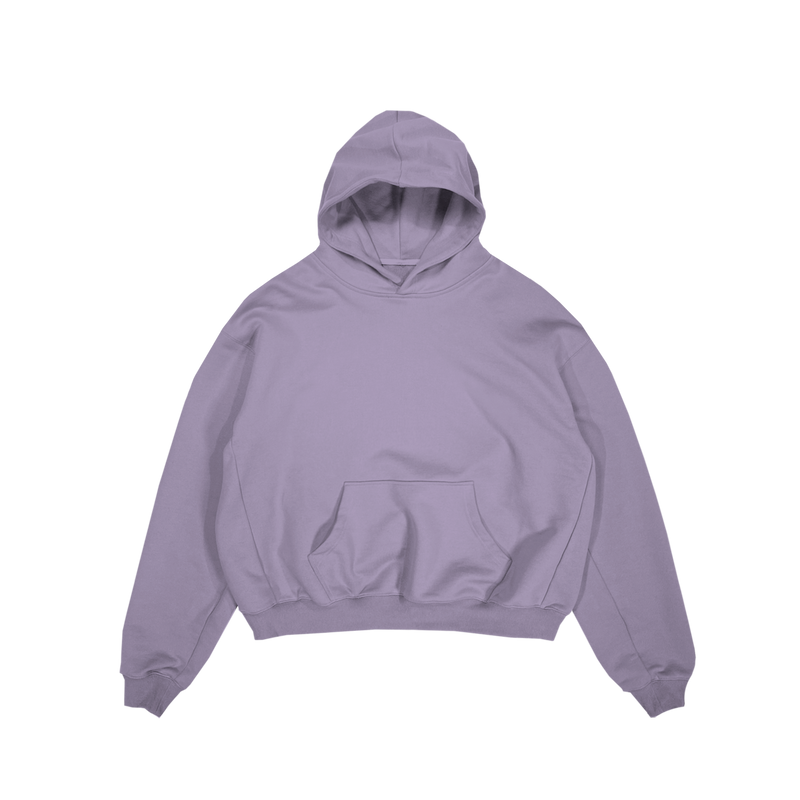 ULTRA-HEAVYWEIGHT HOODIE - SAGE PURPLE