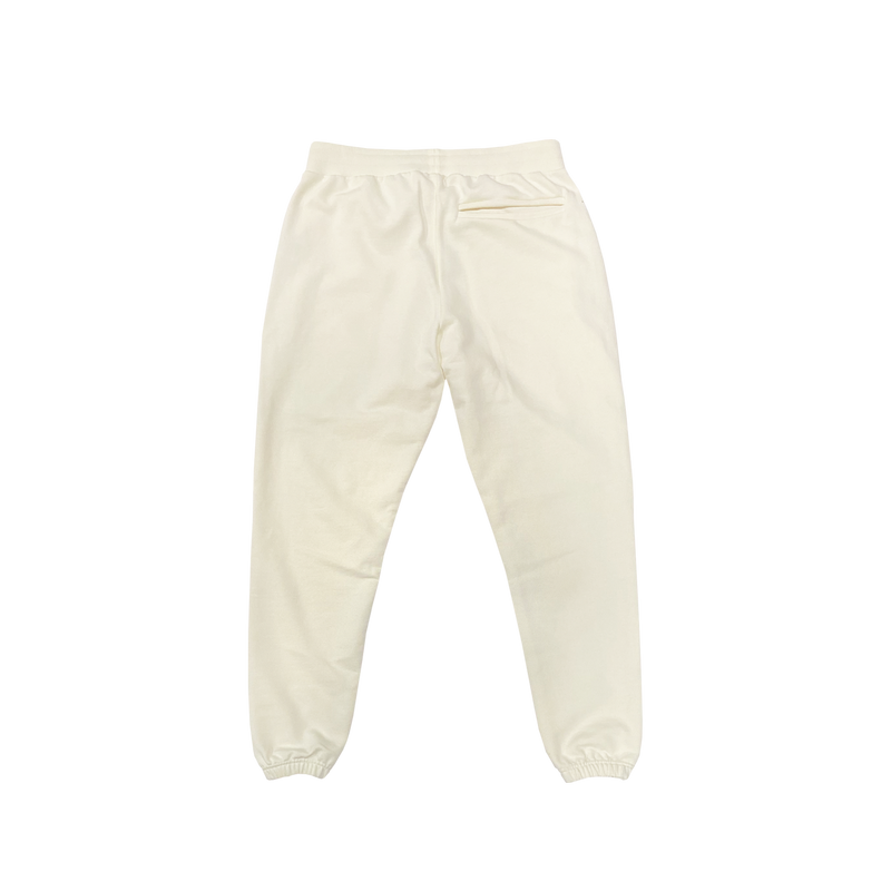 FRENCH TERRY SWEATPANTS - CREAM