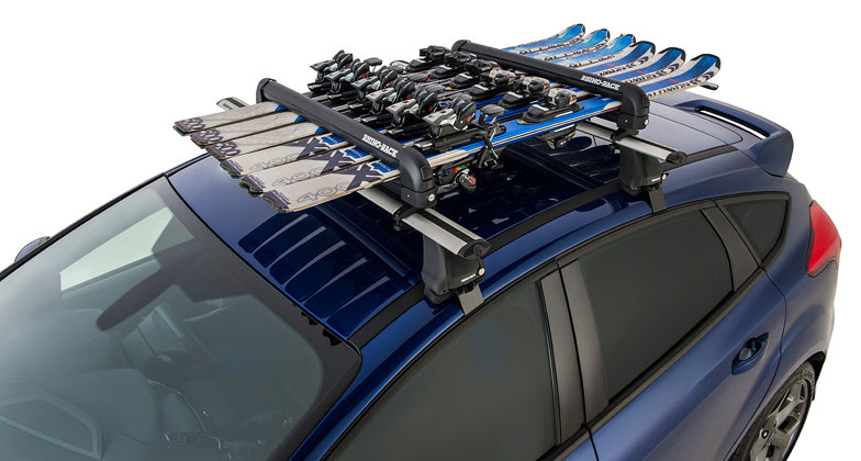 Rhino-Rack Ski and Snowboard Carrier - 6 Skis or 4 Snowboards