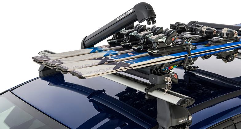 Rhino-Rack Ski and Snowboard Carrier - 4 Skis or 2 Snowboards