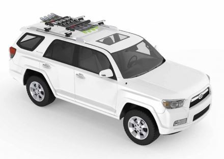 FatCat EVO 4 + S-Wing Roof Racks