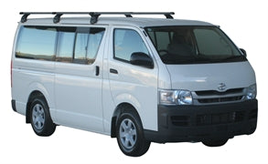 Prorack Roof Rack - Toyota Hiace 3 bar set