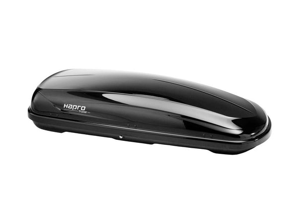 Hapro Traxer 8.6 Roof Box (530L) Colour Options Brilliant Black