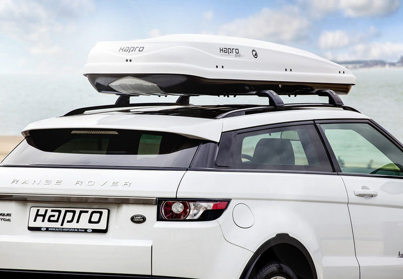 Zenith 8.6 and Roof Rack Combo Colour Options Pure White