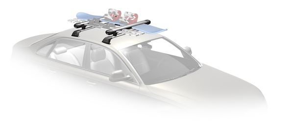 WB300 + S-Wing Roof Racks