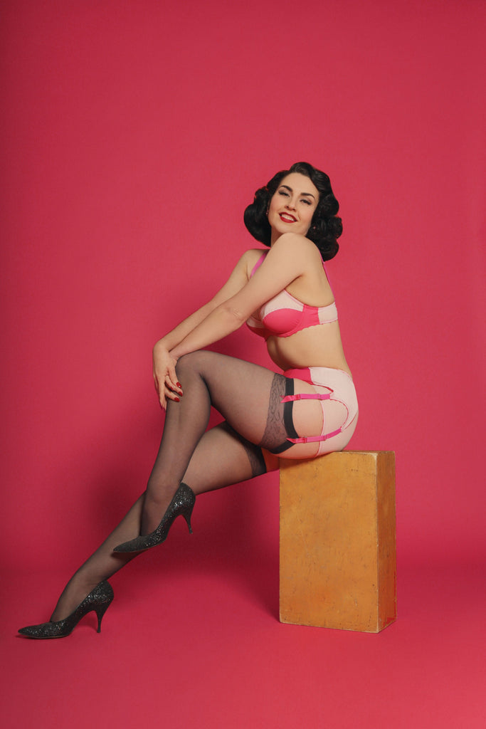 Pink Cupid retro lingerie is here!