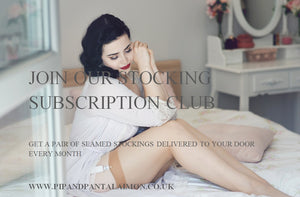 Give the gift of stockings all year round with our Stocking Subscription Club