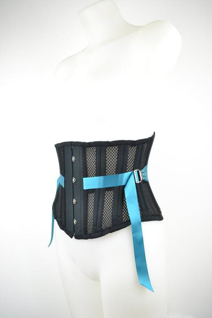 "Have you seen our new range of corsets?  Waist measurements 23-39"" and in three different colours."