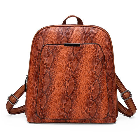 Shih - Serpentine Vintage Backpack - Blue Specs & Co.