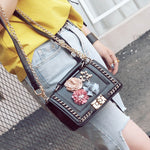 Shih - May Flower Bomb Crossbody - Blue Specs & Co.