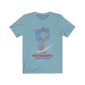 Photography is Not a Crime abstract - PINAC Merchandise