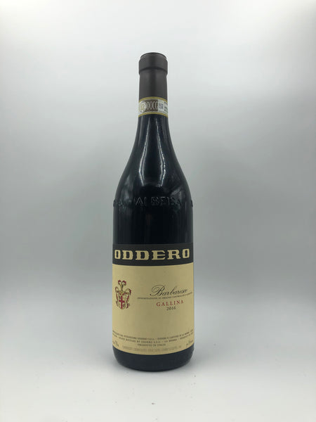 Oddero - Barbaresco Gallina 2016