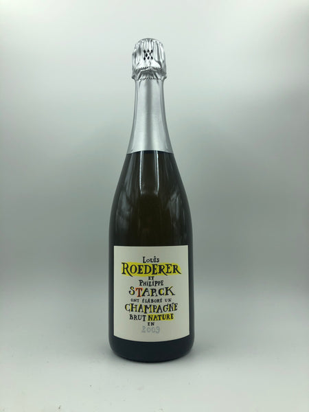 Louis Roederer - Champagne Brut Nature Philippe Starck Vintage 2009