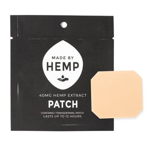 MADE BY HEMP ~ HEMP CBD PATCHES (40MG CBD)
