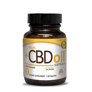 PLUS CBD OIL ~ SOFTGELS GOLD FORMULA (900MG CBD)