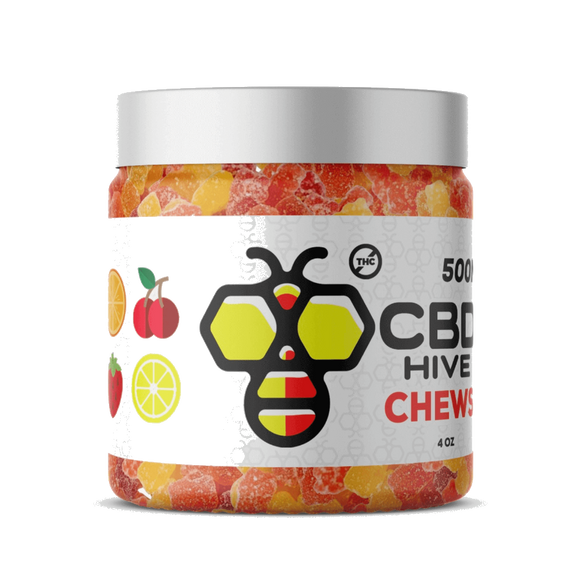 CBD HIVE - CHEWS - CBD GUMMIES (500MG CBD)