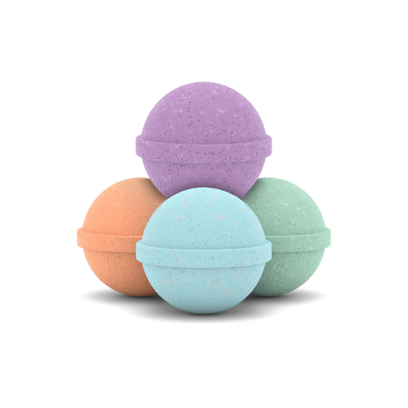 CBDMD CBD BATH BOMB ~ SAMPLE 6-PACK (600MG CBD)