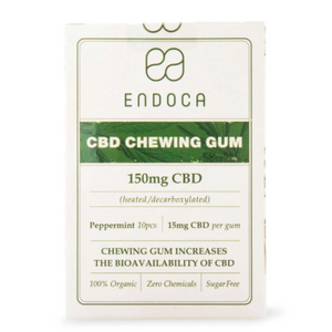 ENDOCA HEMP OIL CBD CHEWING GUM (150MG CBD)