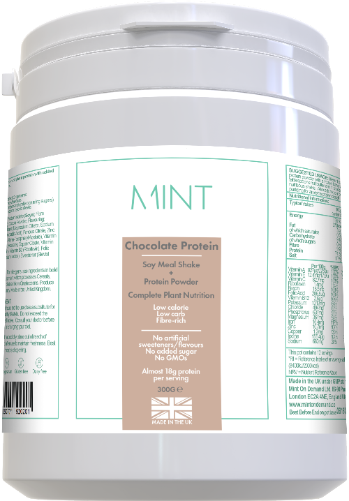 Chocolate Soy Meal Replacement Shake/Protein Powder 300G