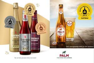 The Brussels Beer Challenge wins the Palm & Rodenbach Brewery with 5 Awards