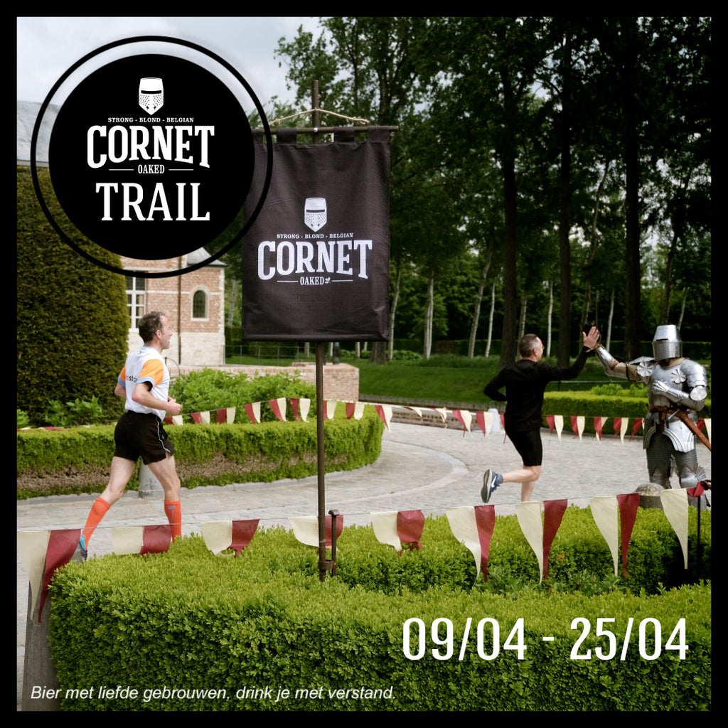 Corona-proof Cornet Trail, 4e editie van Belgian Brewer Trails, strijkt neer in Steenhuffel