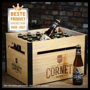 CORNET wooden case voted product of the year!