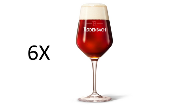 Rodenbach Exclusive Delight glas 33cl (6 stuks)