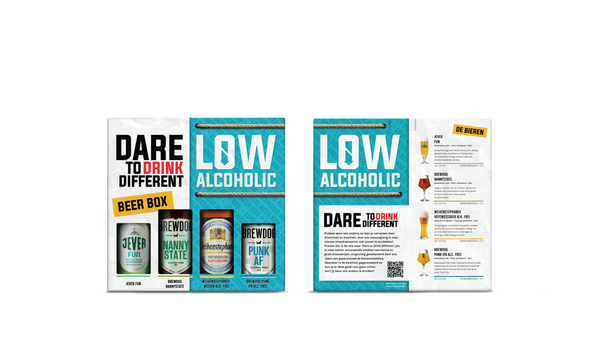 Giftpack: Dare to drink different