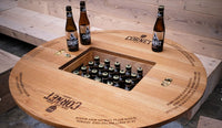 Cornet beer crate table