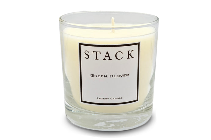 Green Clover Candle