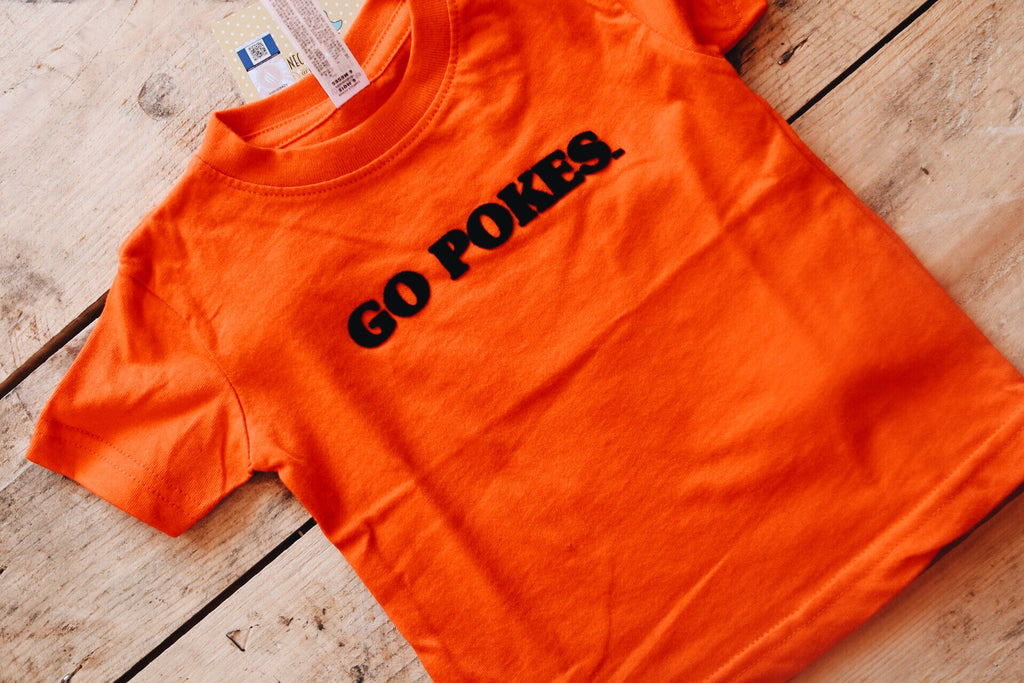 Go Pokes Tee // Kids
