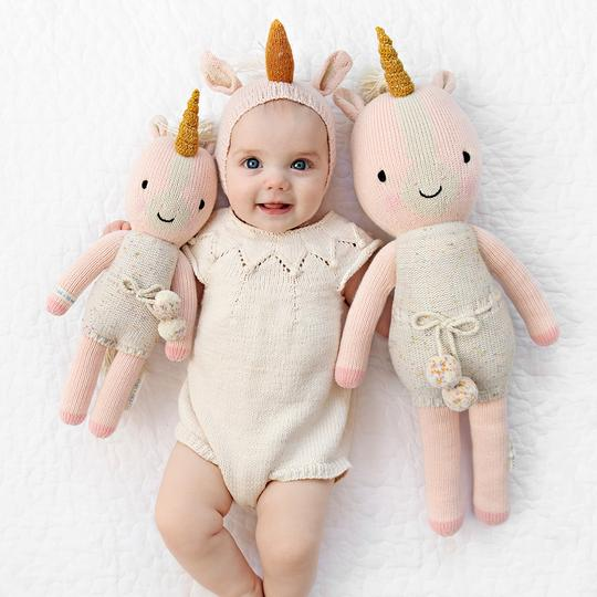 cuddle + kind / ella the unicorn / little 13""