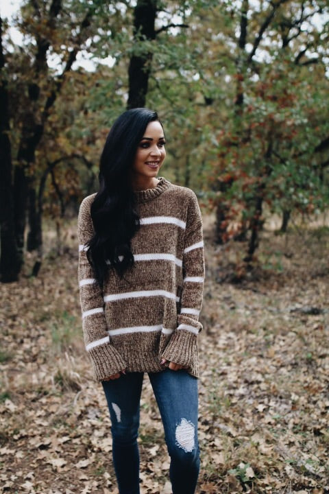 The Brooke Sweater // Golden Twig