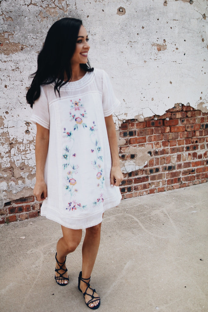 The Amie Dress // White