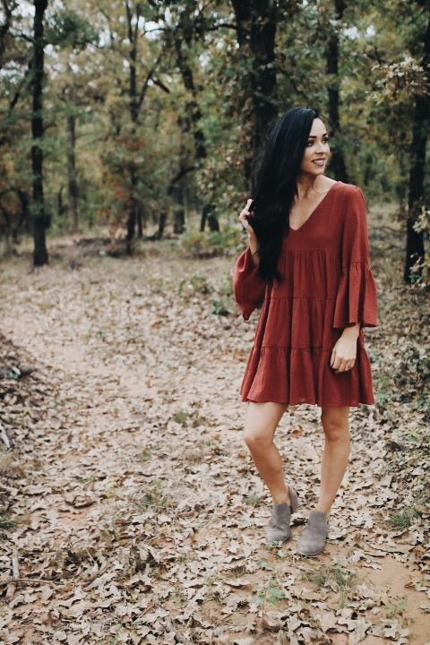 The Rosie Dress // Rust
