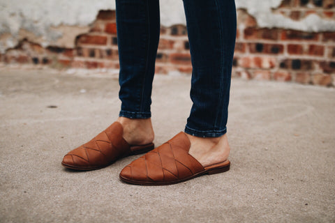 The Survival Mule // Tan Leather