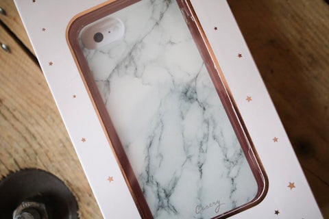 Casery Phone Case // White Marble