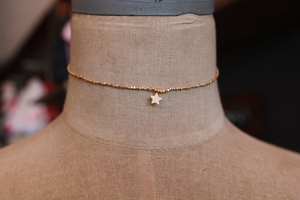 single star choker