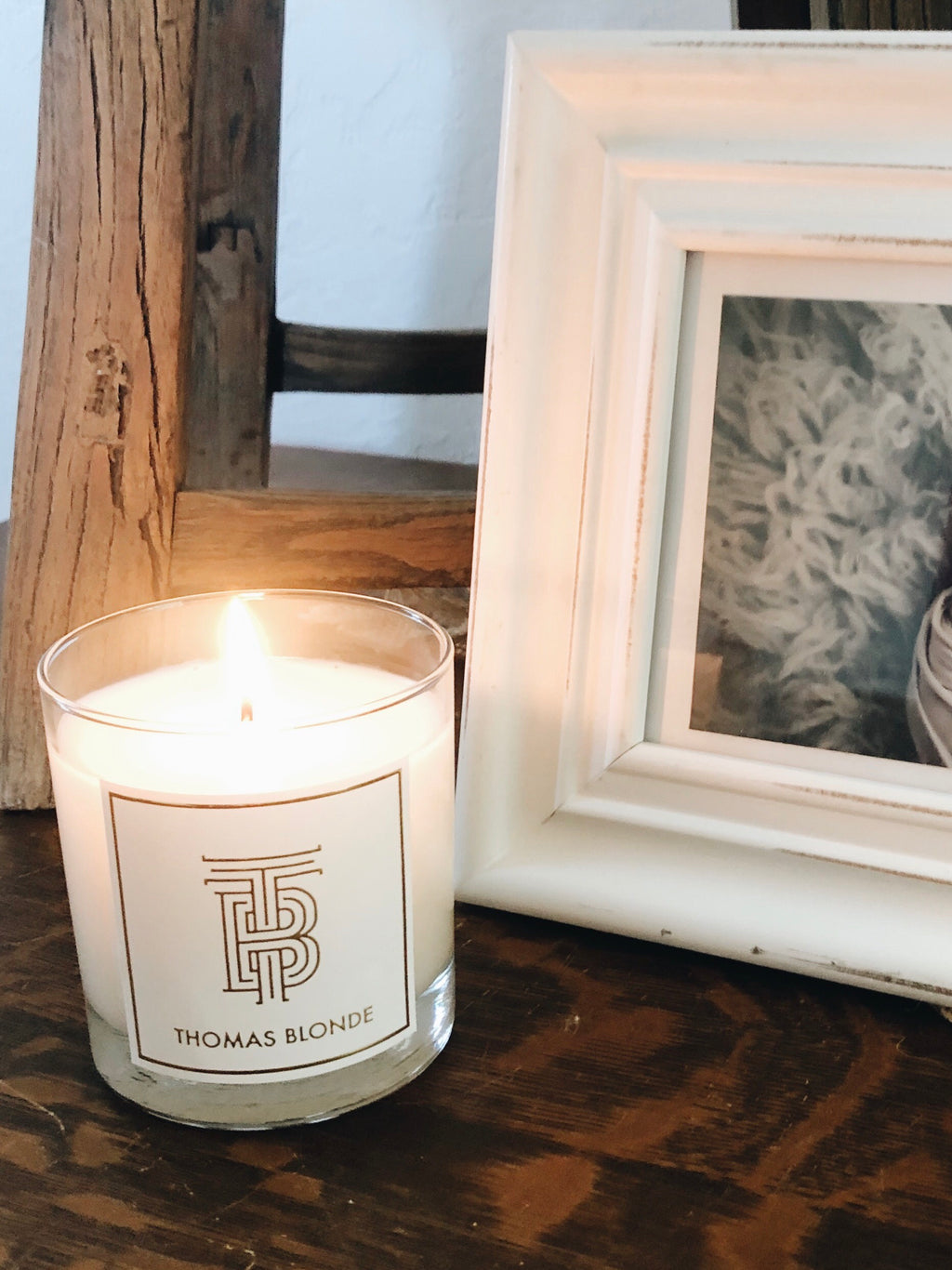 Thomas Blonde Signature Candle