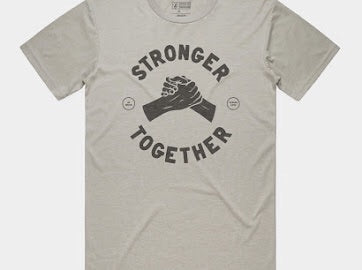 Stronger Together Tee // Preorder