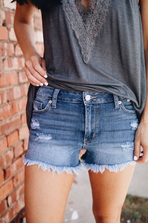 The Terri Short // Denim
